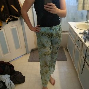 Sheer Tommy Bahama beach pants.